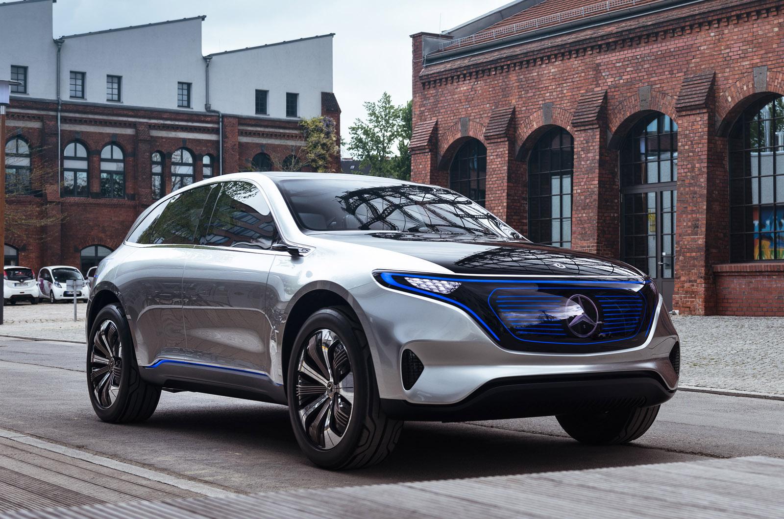 Концепция Mercedes EQ — первая поездка