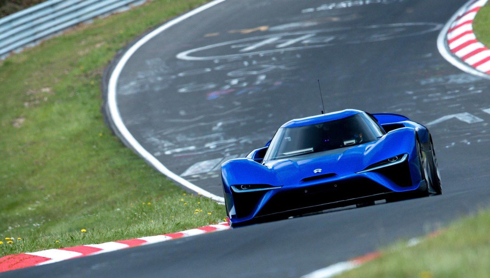 Самый быстрый автомобильный автомобиль, который когда-либо был в коленях Нюрбургринга, — это в настоящее время полностью электрифицированный NIO EP9