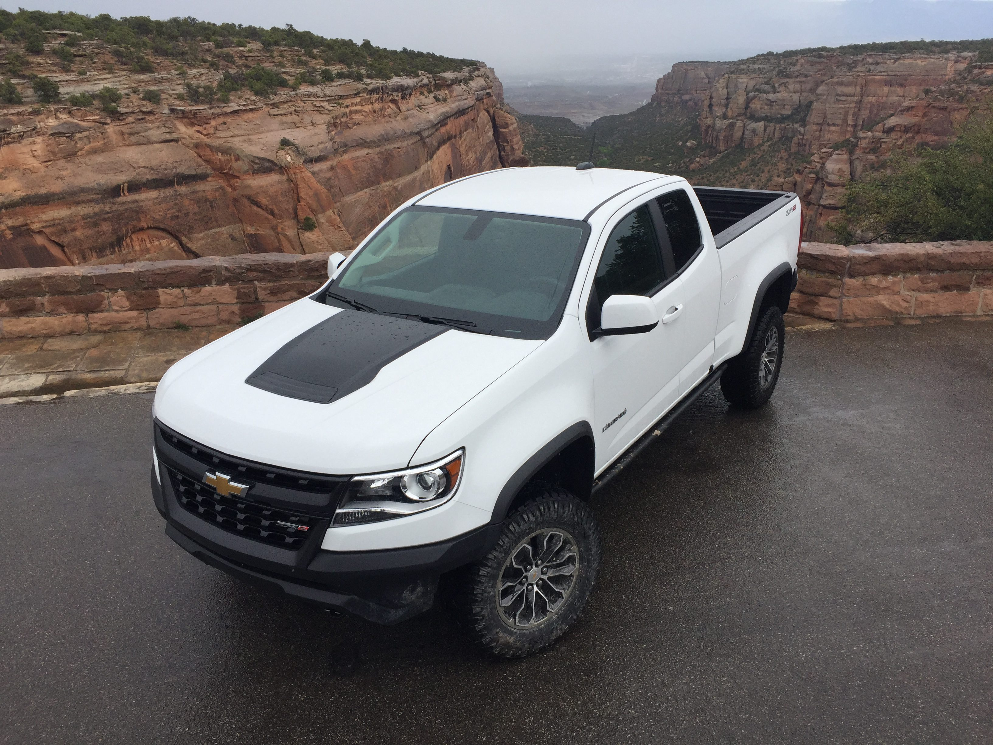 Первый диск: 2017 Chevy Colorado ZR2 — Cleverer Girl
