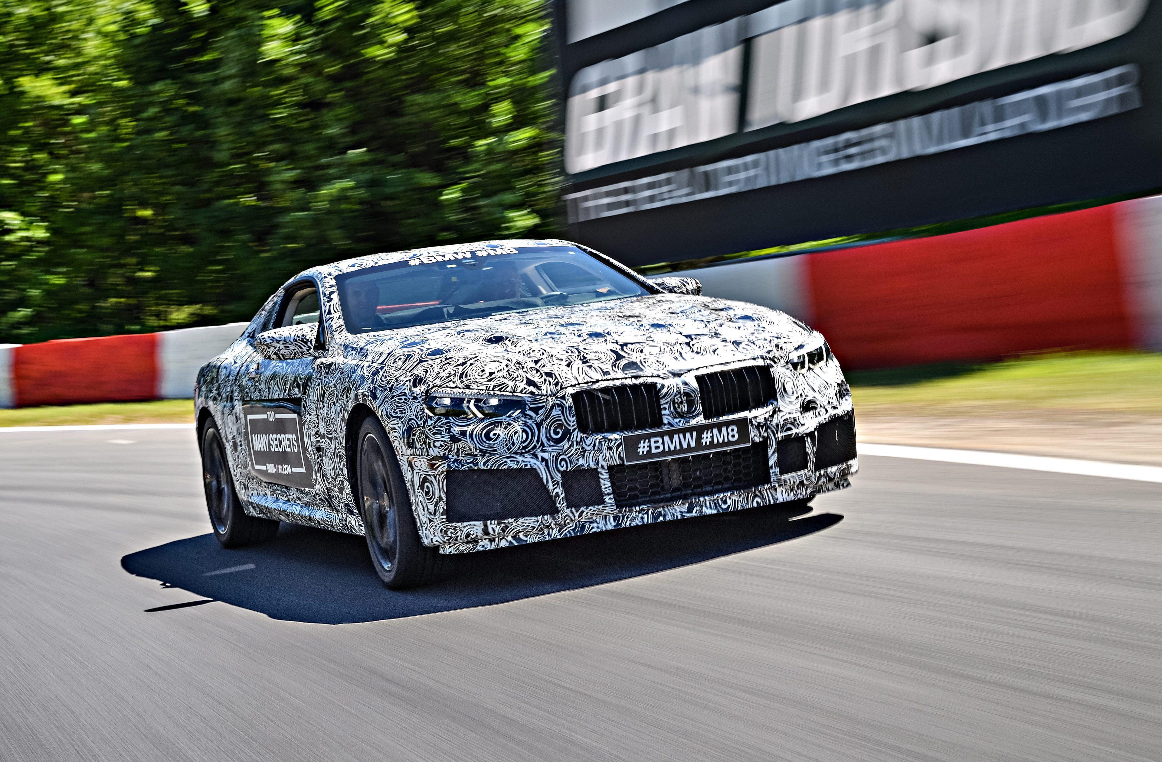 BMW наконец подтверждает развитие на Mythical M8