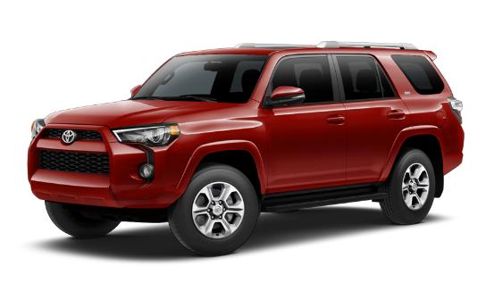 Туз базы: 2017 Toyota 4Runner SR5