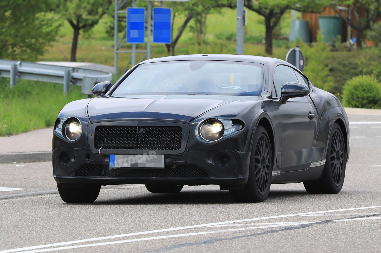 Следующий интерьер Bentley Continental GT увиден в первый раз