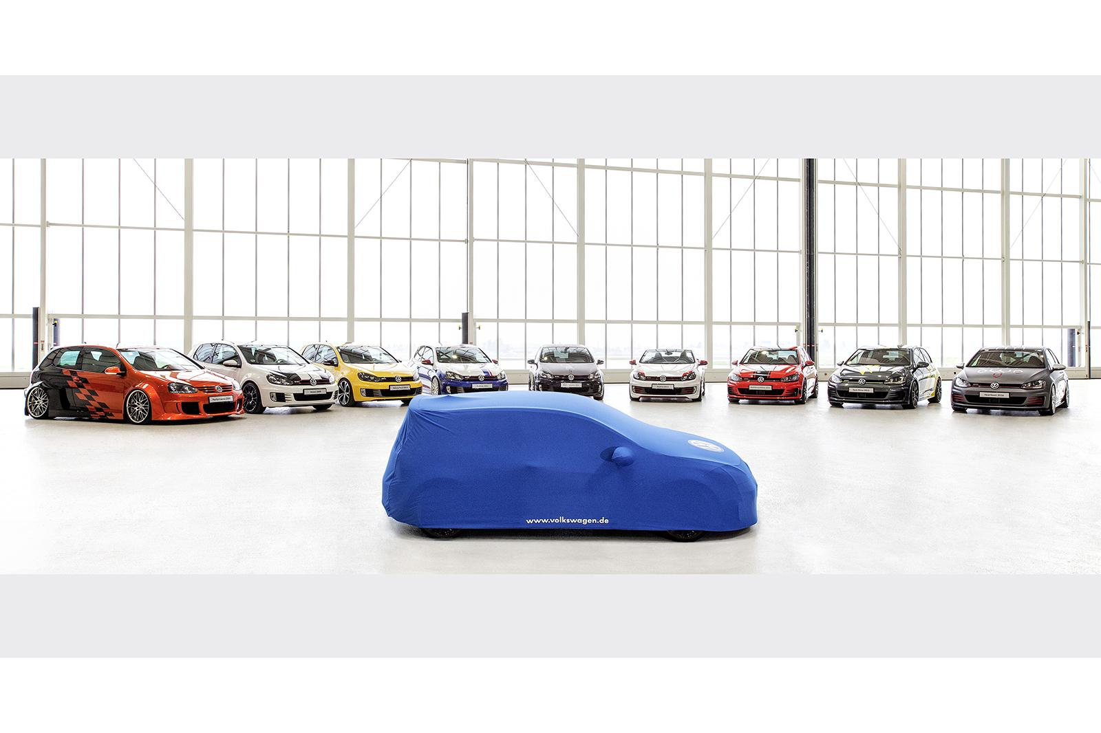 2017 Концепт Volkswagen Golf GTI Worthersee готов к раскрытию