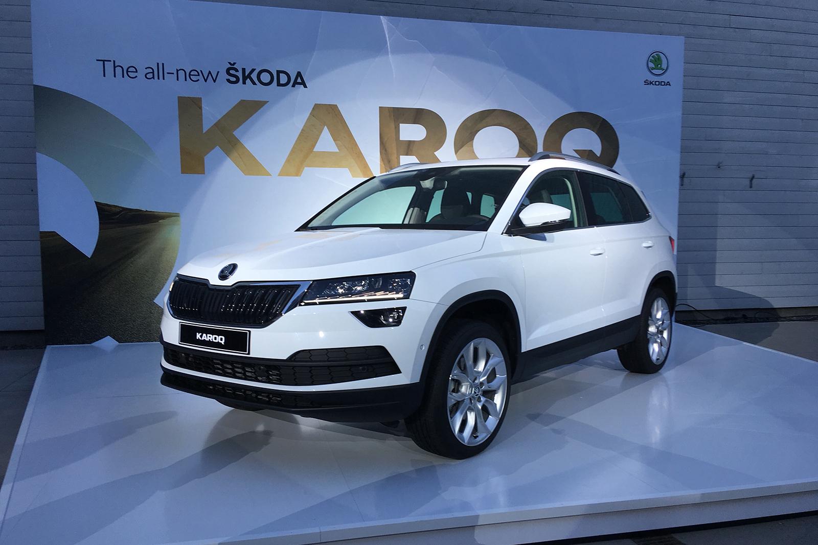 Внедрение нового внедорожника Skoda Karoq