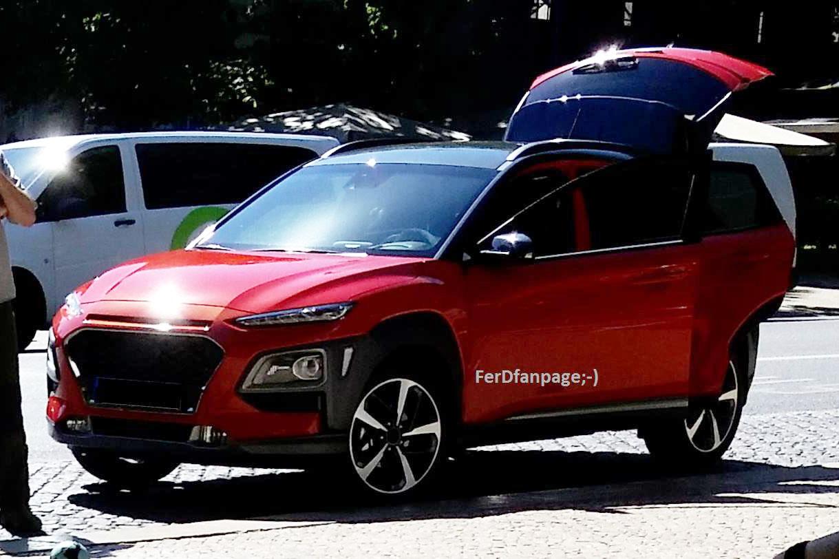 Hyundai Kona определился с откровенным дебютом в июне