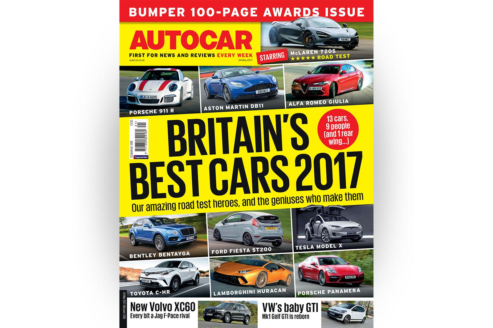 Журнал Autocar 24 мая — вышел