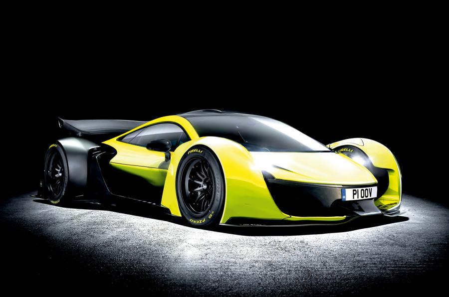 Все-электрический суперкар McLaren все еще находится на рассмотрении