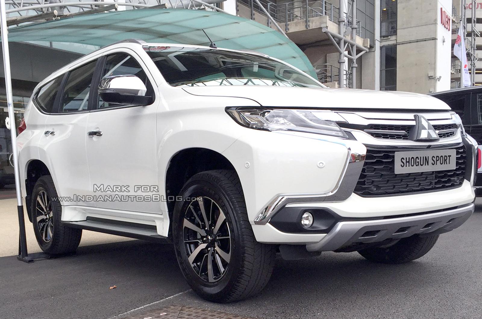Mitsubishi Shogun Sport поступит в продажу в Великобритании в январе