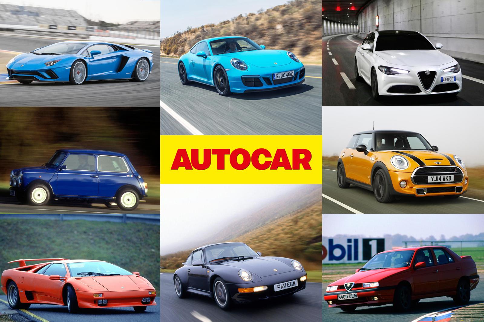 Autocar вождения впечатления — сравнение автомобилей двадцать лет на