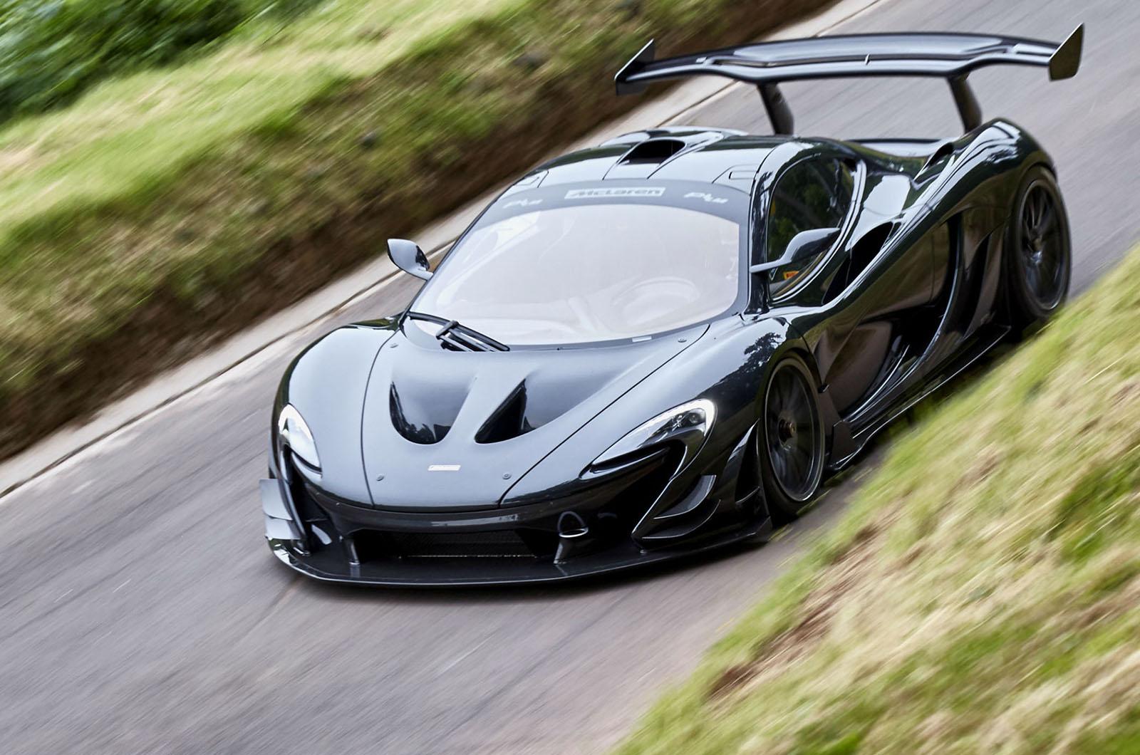 McLaren P1 LM разгромил рекорд производства Нюрбургринга