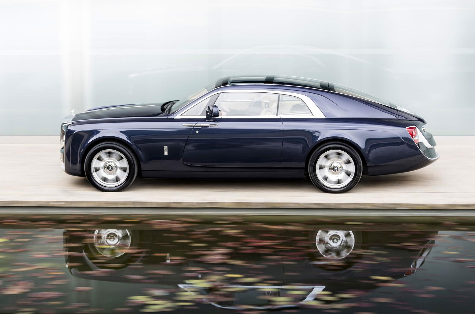 Rolls-Royce открывает эксклюзивный заказ «Sweepail»