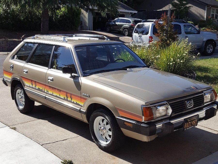 Редкие аттракционы: этот винтаж 1981 Subaru GL — очаровательная лиса в пустыне