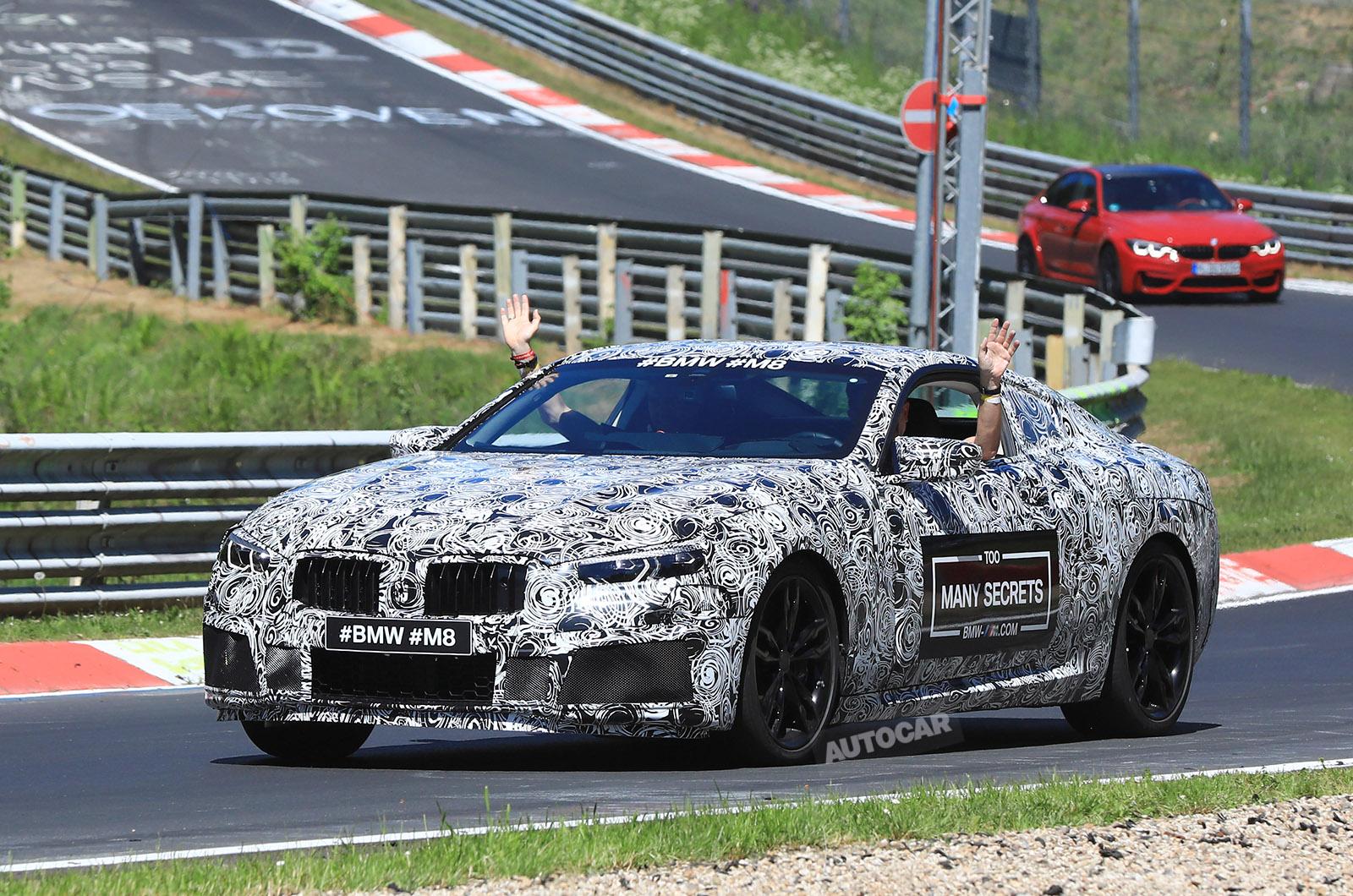 BMW M8 подтвердил на дебют гонки в январе 2018 года