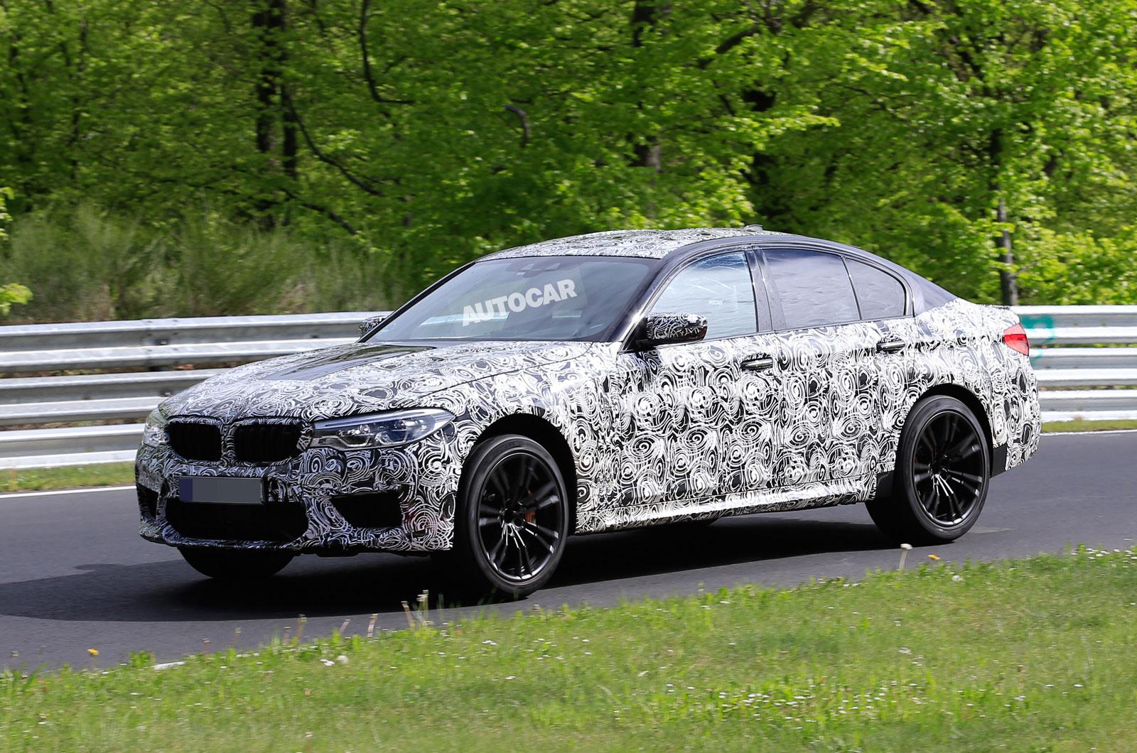 2018 BMW M5 должен появиться через три месяца как самый продвинутый М автомобиль