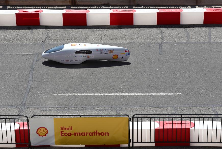 Студенты колледжа Québécois создают автомобиль на 2713 миль за галлон