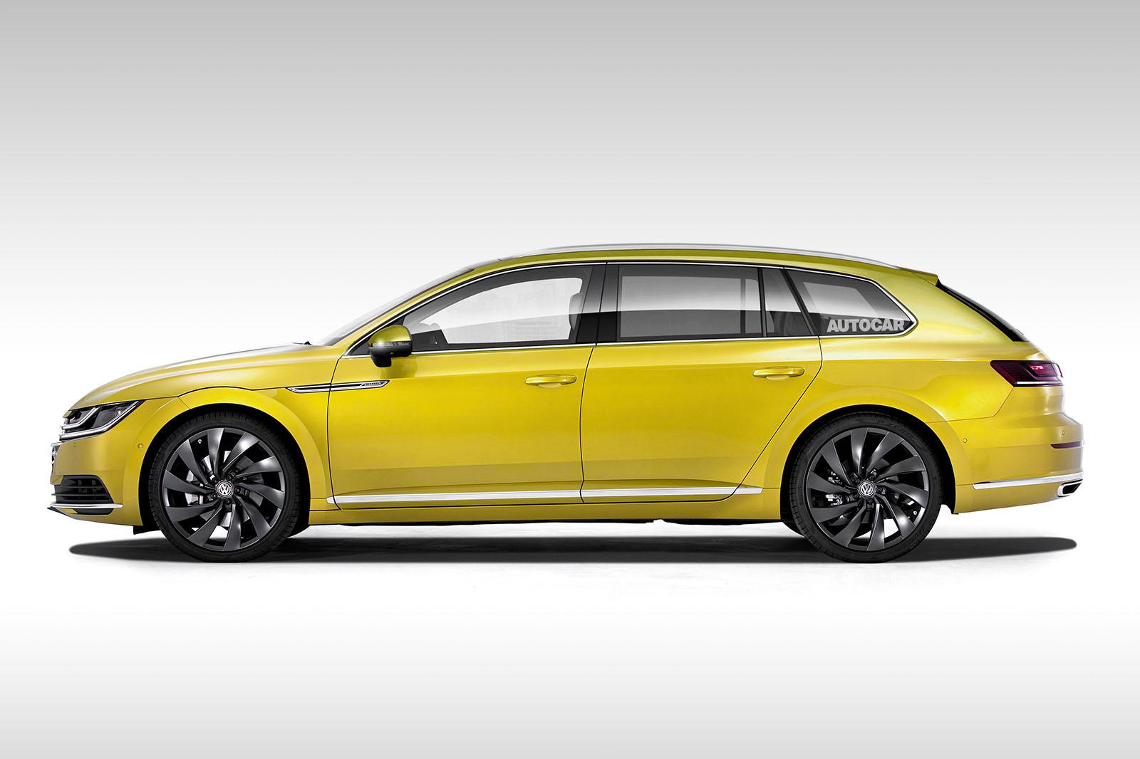 Volkswagen рассматривает Arteon Shooting Brake
