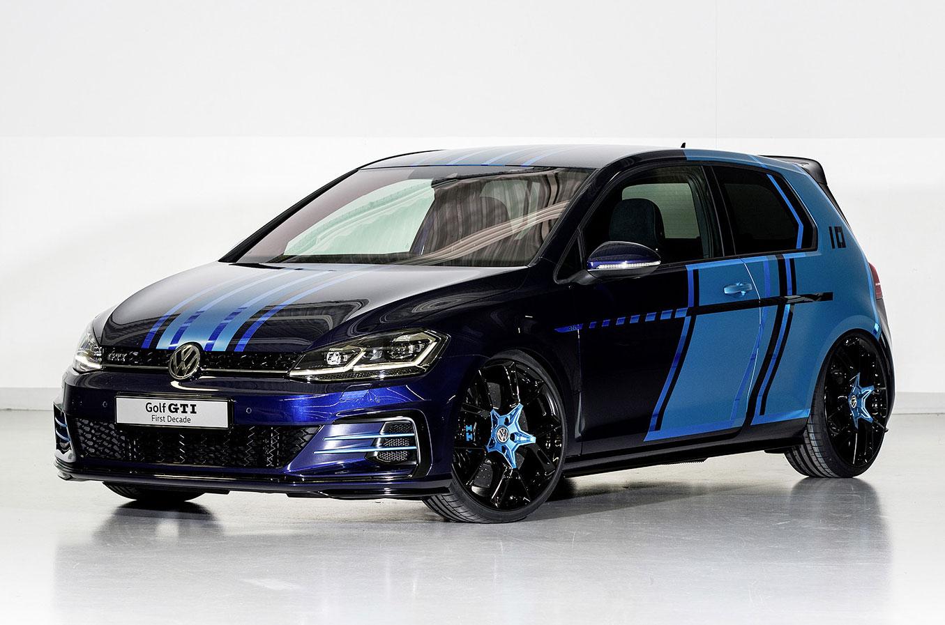 Volkswagen представляет гибридную концепцию Golf 396 л.с.
