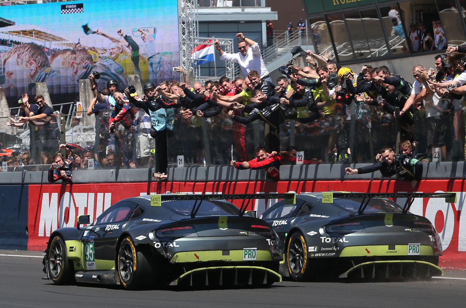 Как Aston Martin заявлял о славе Ле-Мана в последнем триллере
