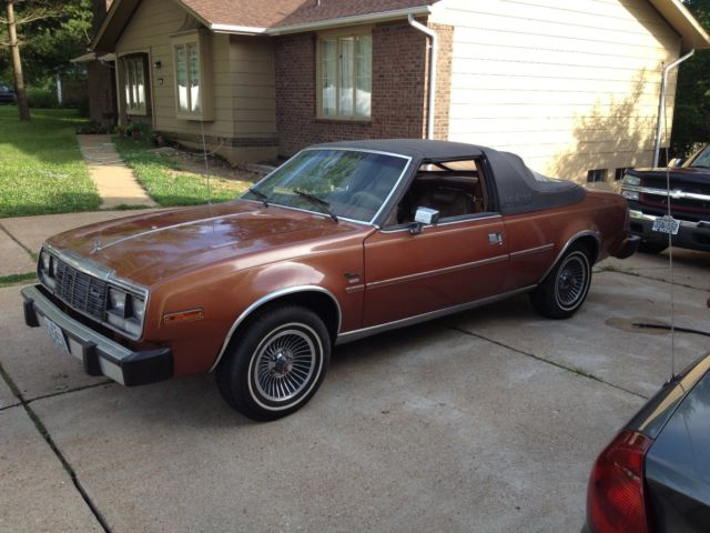 Rare Rides: Эта AMC с 1981 года — Pure Brougham и Very Targa