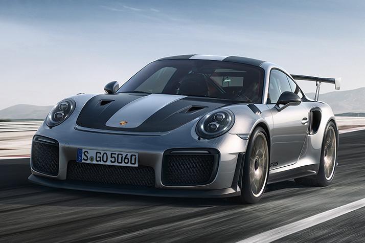 2018 Porsche 911 GT2 RS: FWD, CVT, полуавтономный, пятиместный спортивный кроссовер, проданный с Earth Dream Emojis