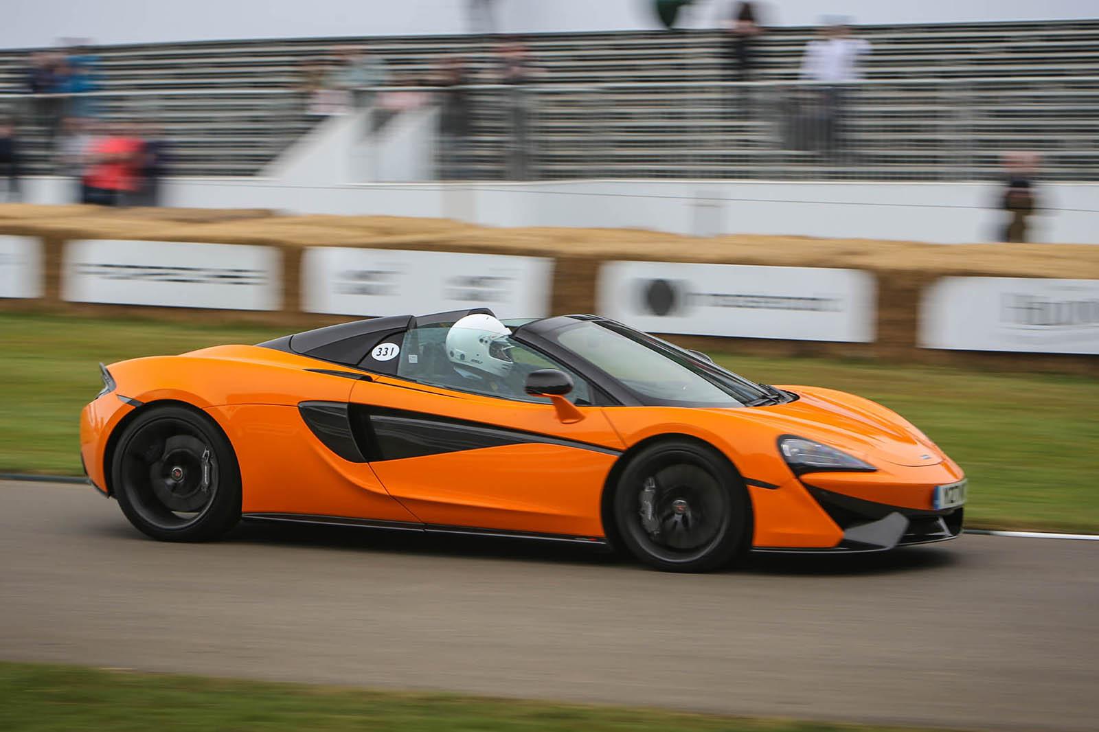 McLaren 570S в Гудвуде — из-за руля