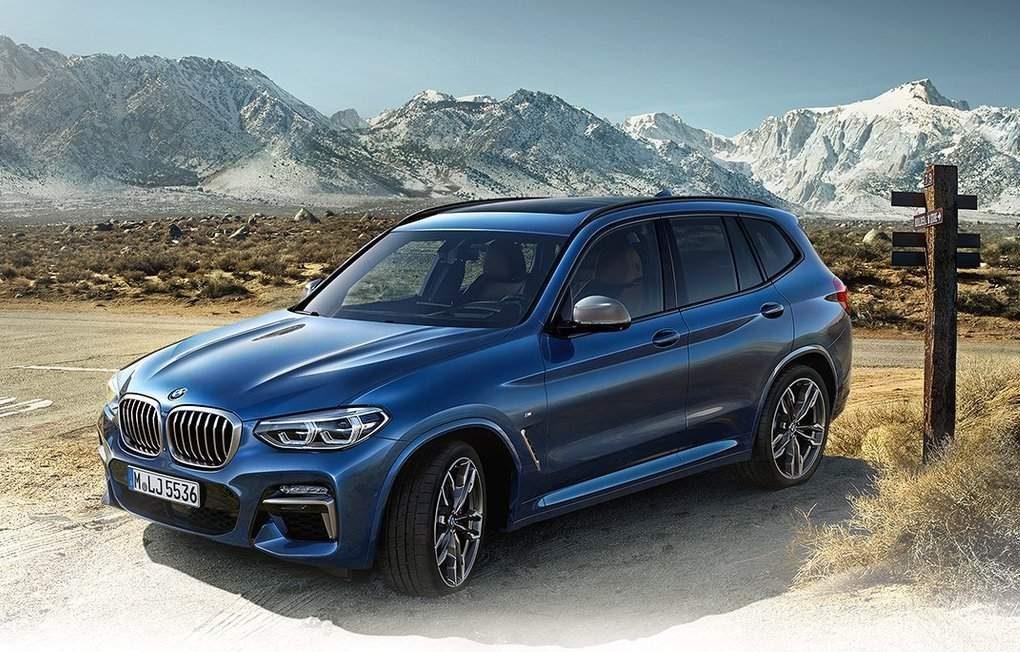 Официальные фотографии BMW X3 2018 просочились преждевременно