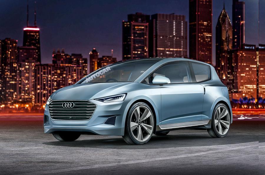 Audi выпускает Volkswagen Up-size автономного EV
