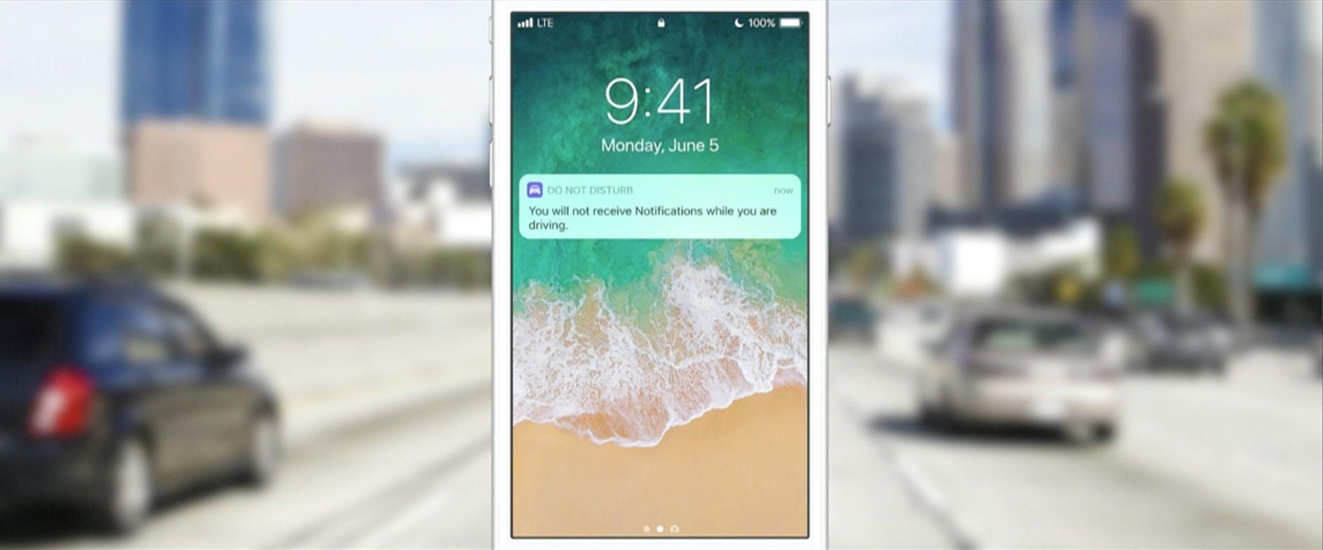 Apple, IOS 11, мода «не беспокоить на машине» наконец-то доступна!