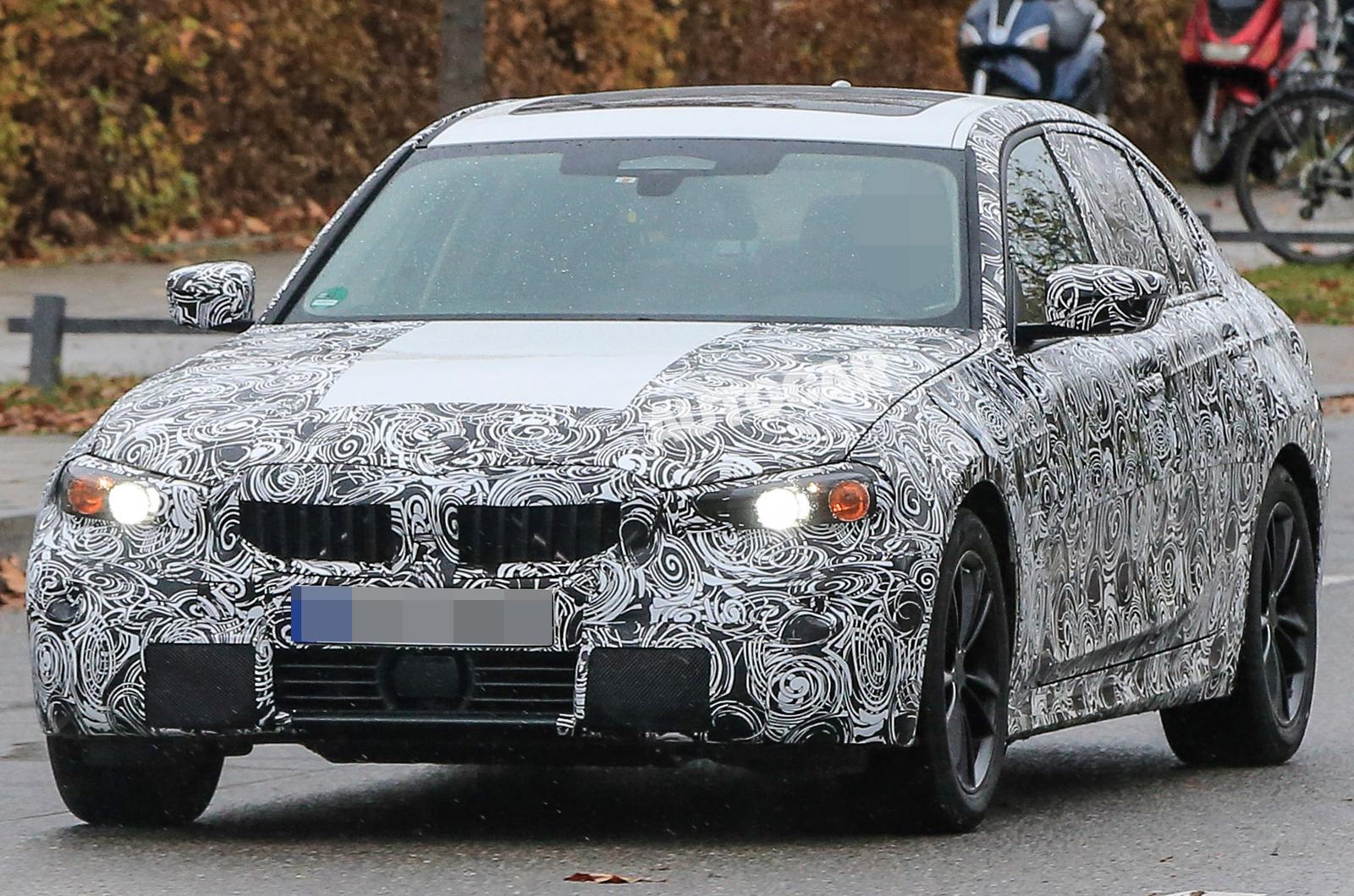 2019 Тесты BMW 3 серии на Нюрбургринге — на видео