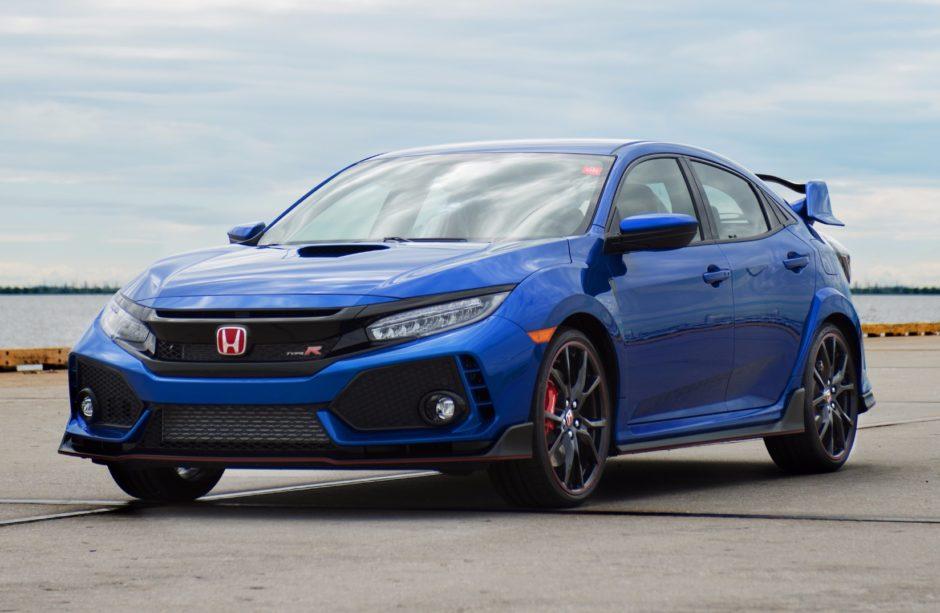 Благотворительный случай Honda Civic Type R: сначала в США и на аукционе