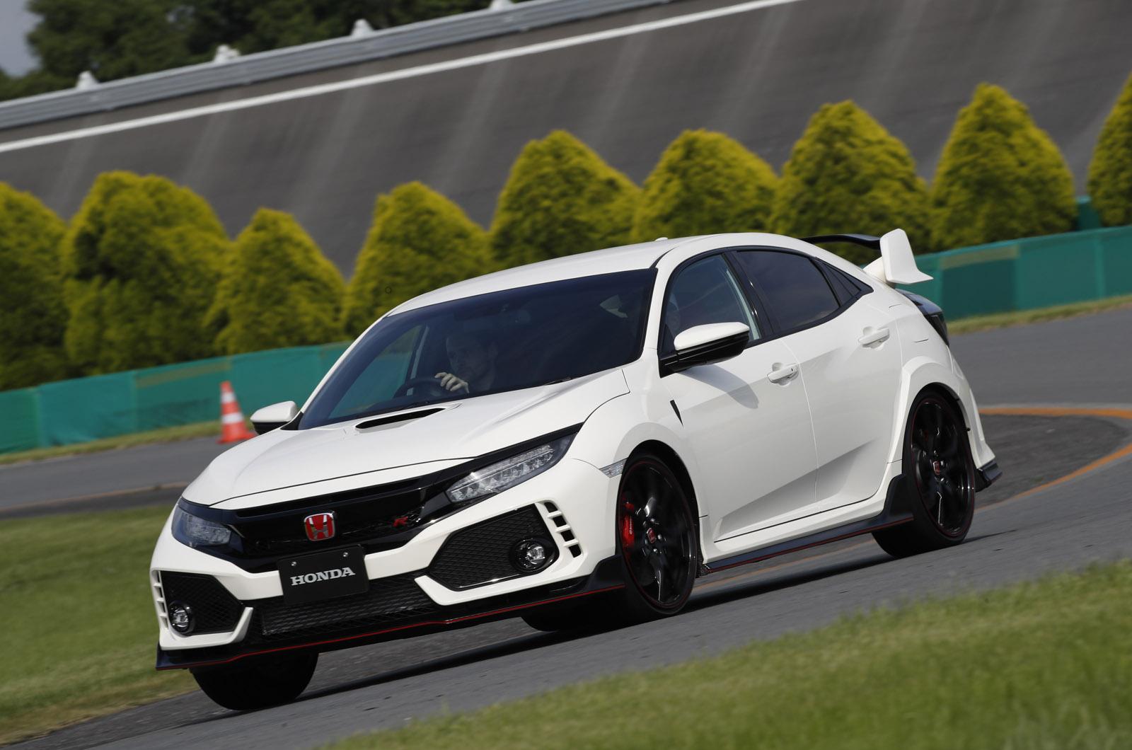 Новый Honda Civic Type R: двигатель прототипа горячего люка