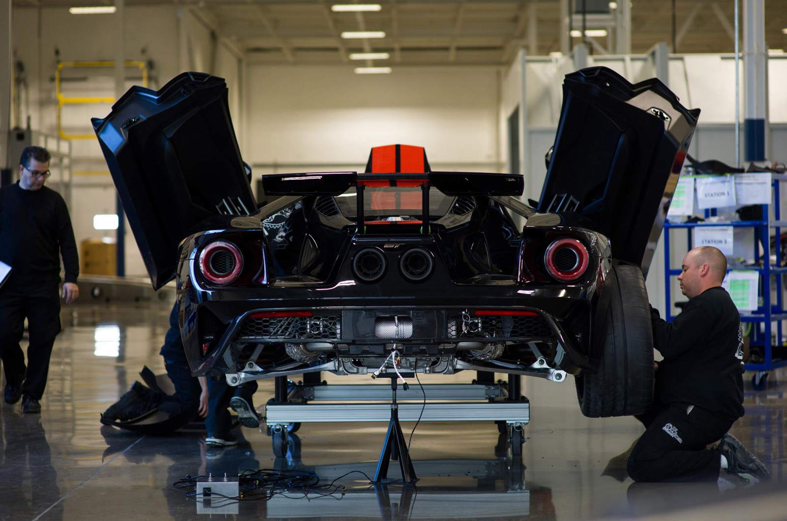 25 суперкаров Ford GT в год подтвердили для Великобритании