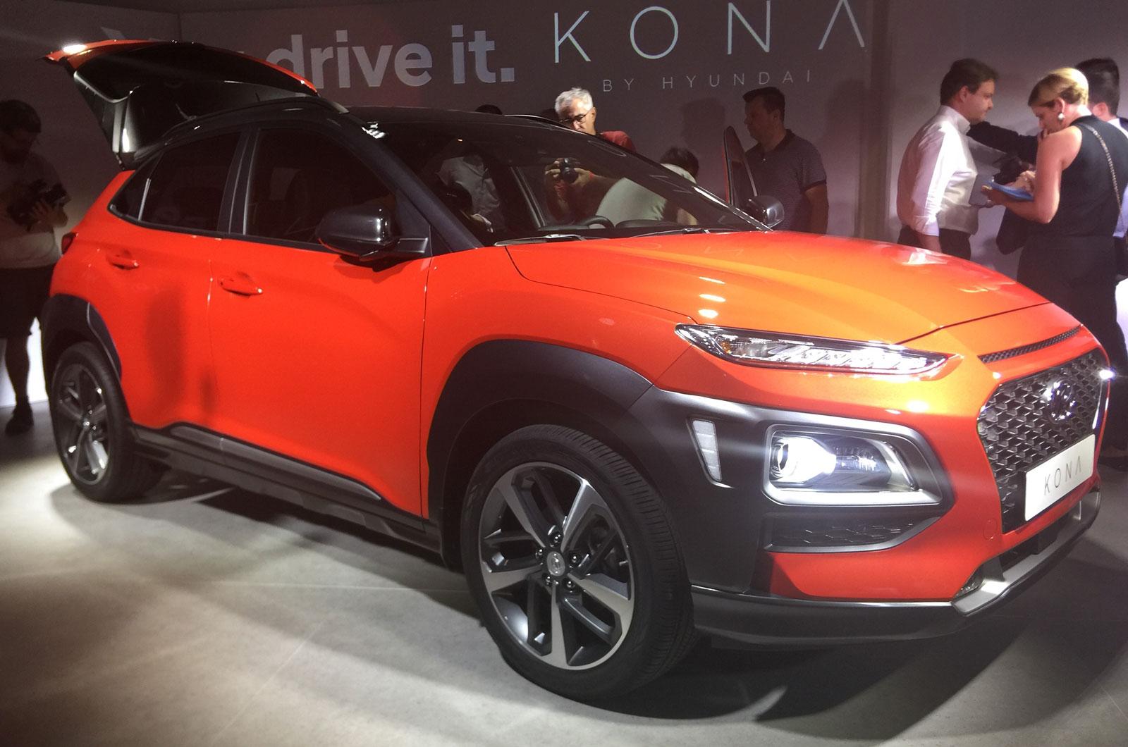 Hyundai Kona продемонстрировала новые европейские фотографии соперника Nissan Juke