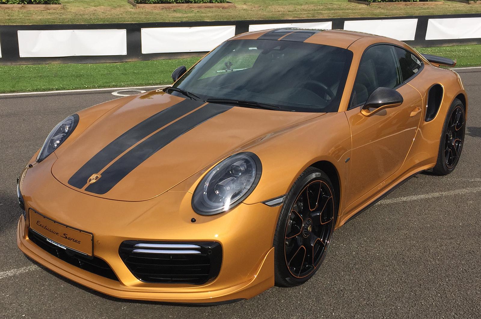 Porsche 911 Turbo S Эксклюзивные серии поклоны в Гудвуде