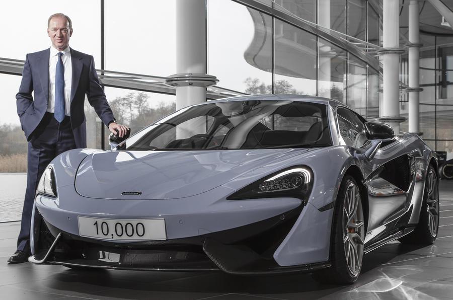 McLaren Automotive босс рассматривает плавучую компанию на фондовом рынке