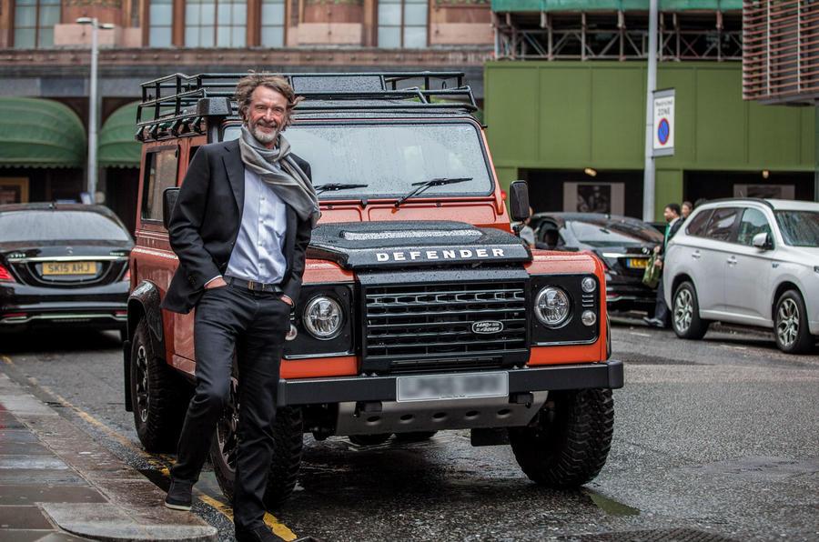 Ineos активизирует поиск производственного объекта для Land Rover Defender, вдохновленного внедорожником