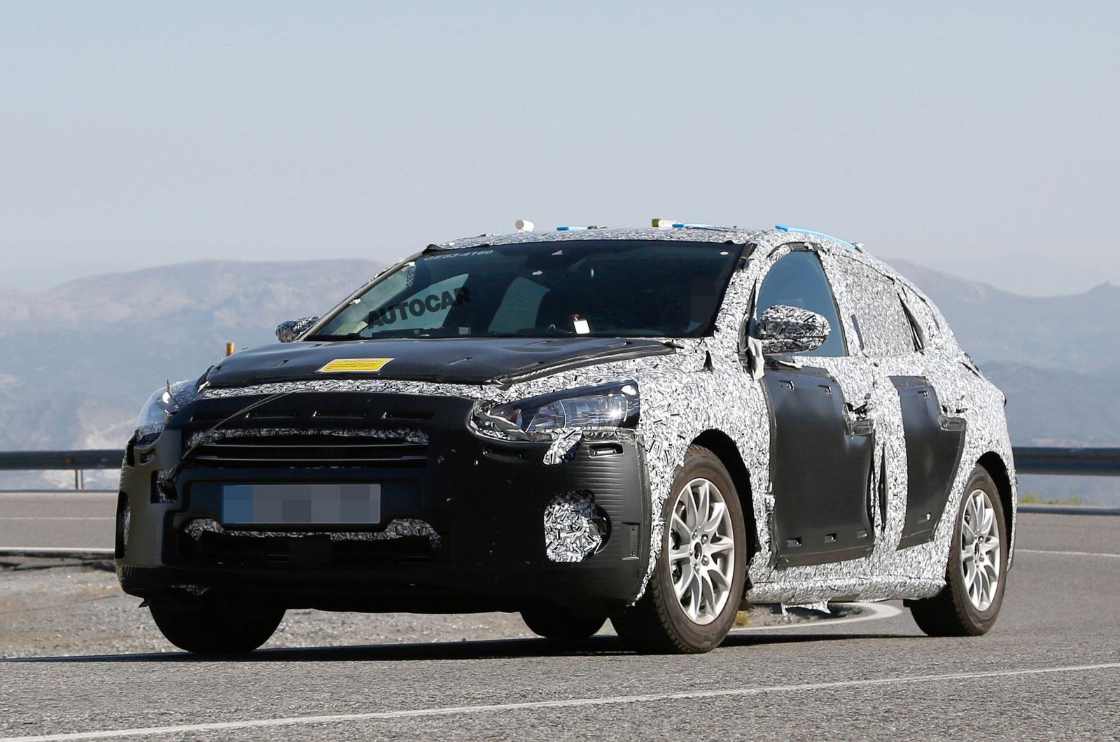 2019 Ford Focus замечен производственным корпусом и салоном