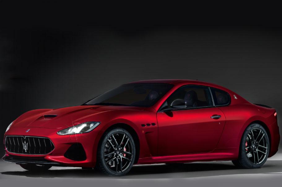 Обновленный Maserati Granturismo показал в Нью-Йорке новый стиль