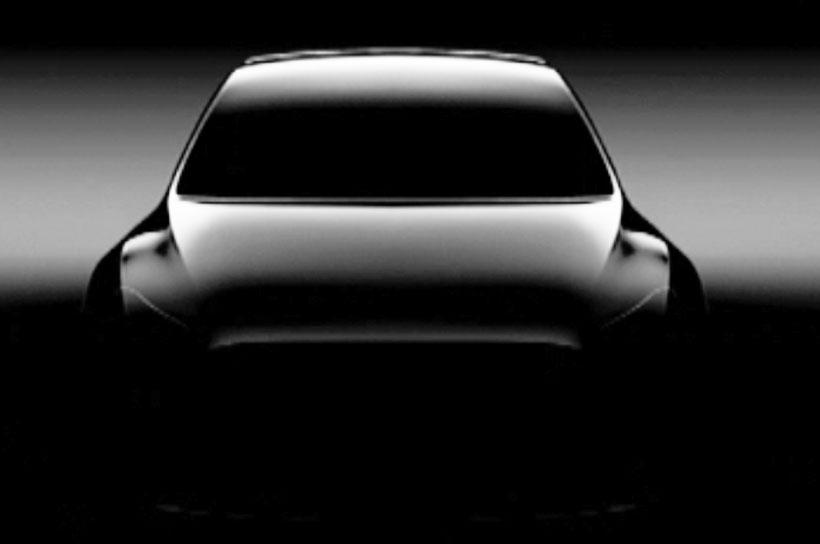 Tesla Model Y: первое изображение не показывает наружных зеркал и агрессивного дизайна