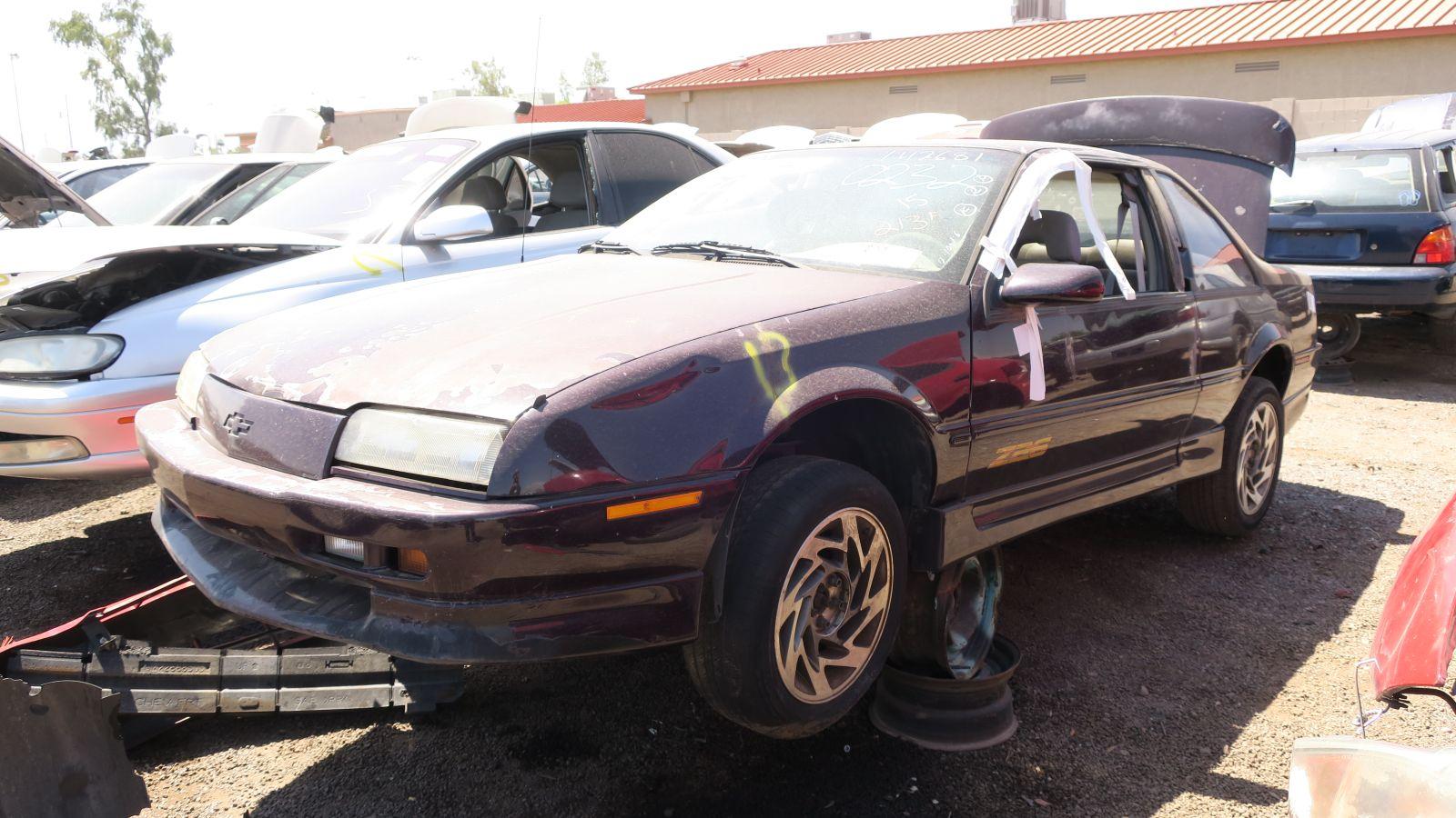Junkyard Найти: 1996 Chevrolet Beretta Z26