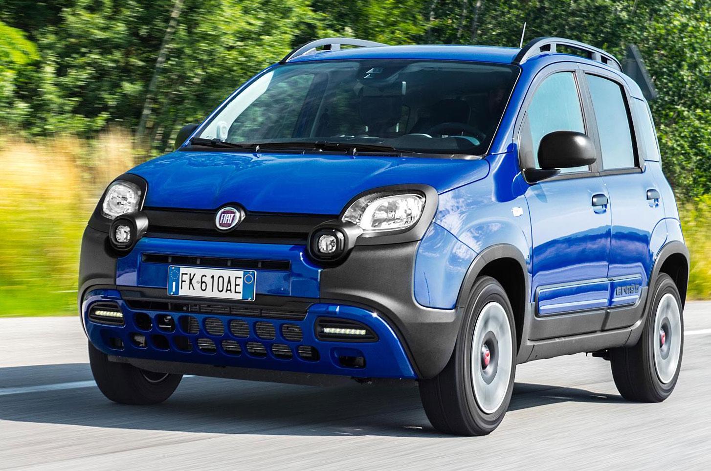 Fiat Panda City Cross запущен как более дешевый вариант с полным приводом