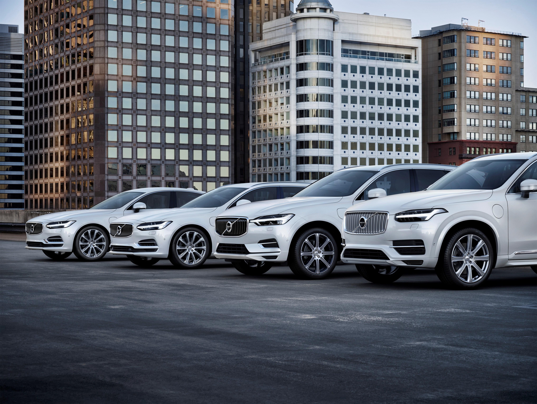 Все модели Volvo будут электрифицированы с 2019 года