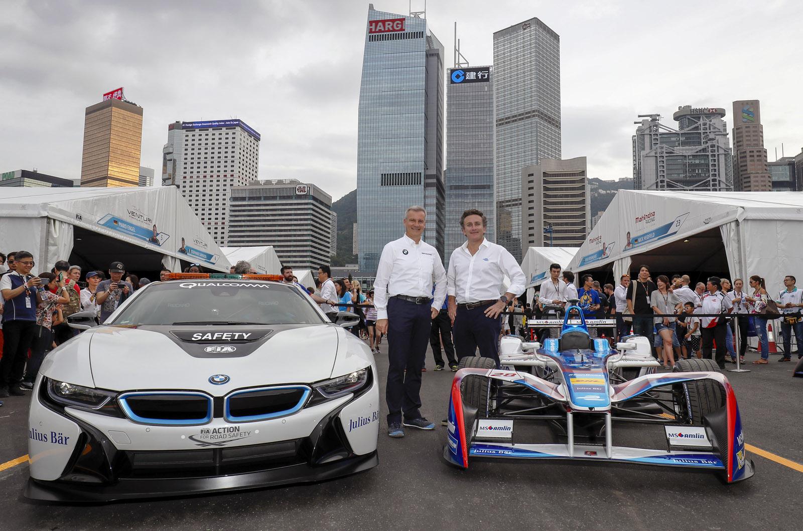 BMW сотрудничает с Andretti Autosport для входа в Формулу E