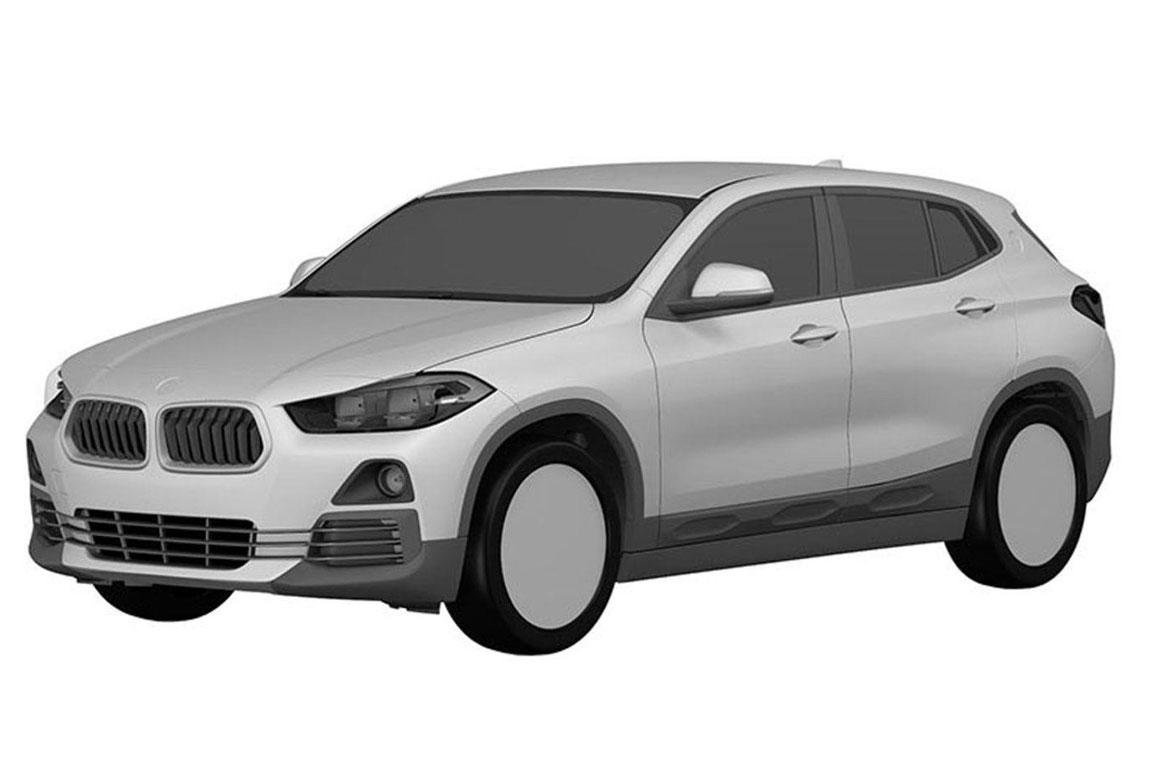 Патенты BMW X2 показывают, что он сохранит концепцию для производства