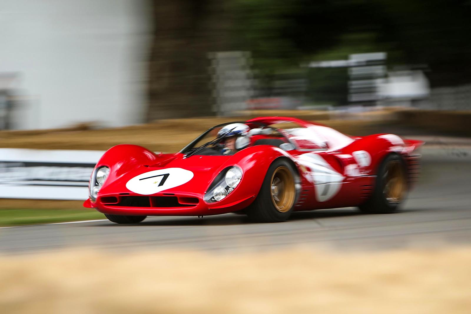 Goodwood Festival of Speed 2017 — лучший из Ferrari