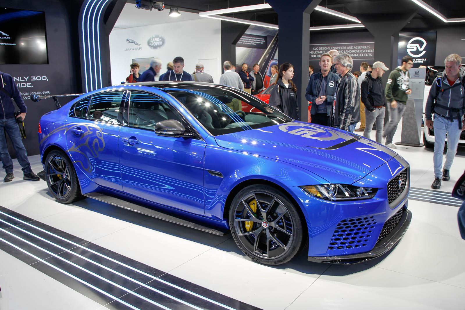 Проект Jaguar XE SV 8 отправляется в Гудвуд-Хиллклимб — на видео