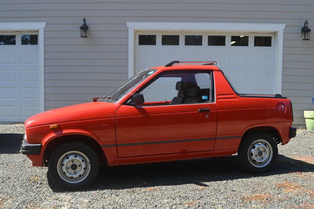 Rare Rides: Tiny 1987 Suzuki Truck может сделать вас могущественным мальчиком
