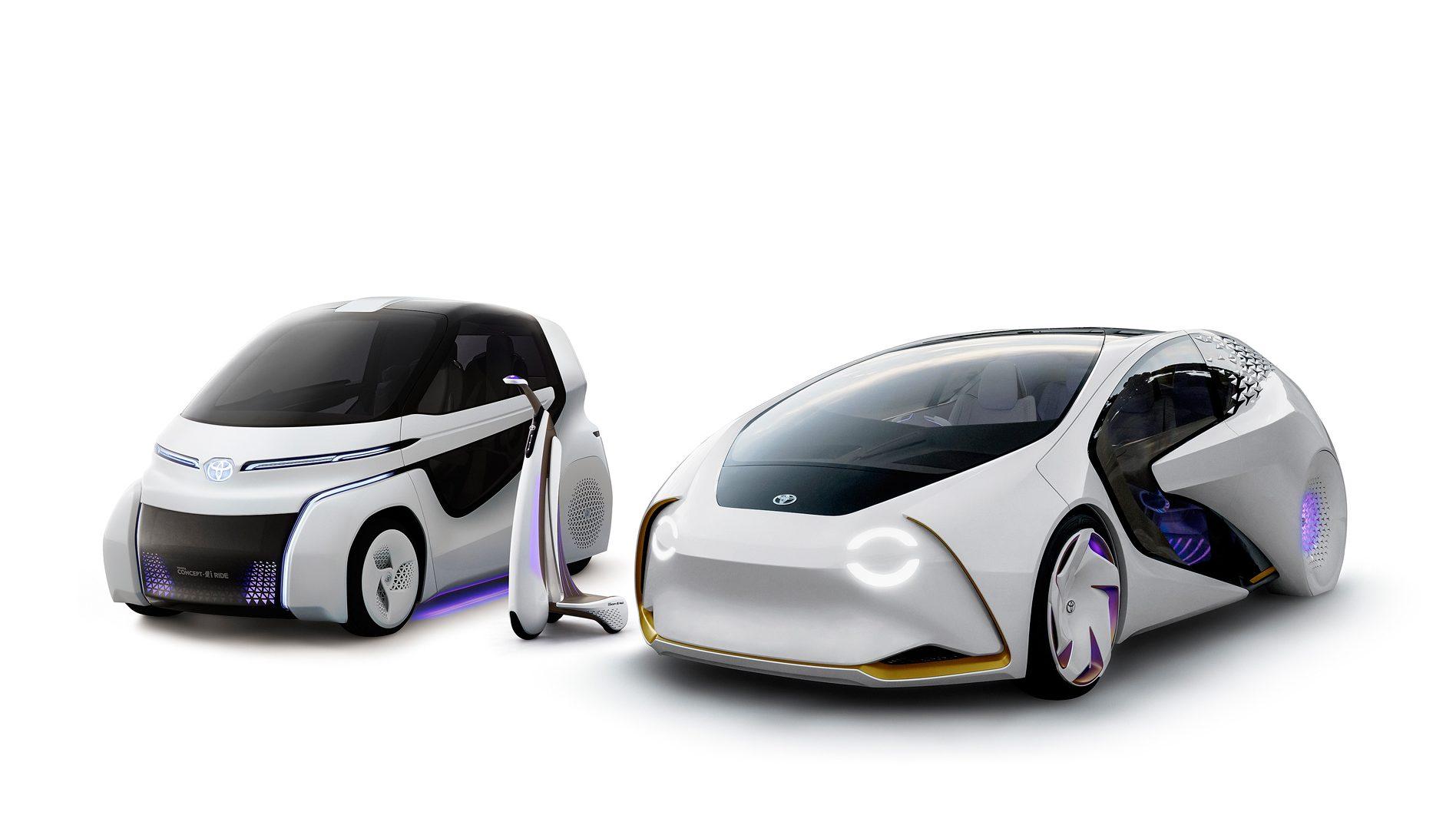 Toyota Debuts Concept-i Серия электрических решений для мобильности