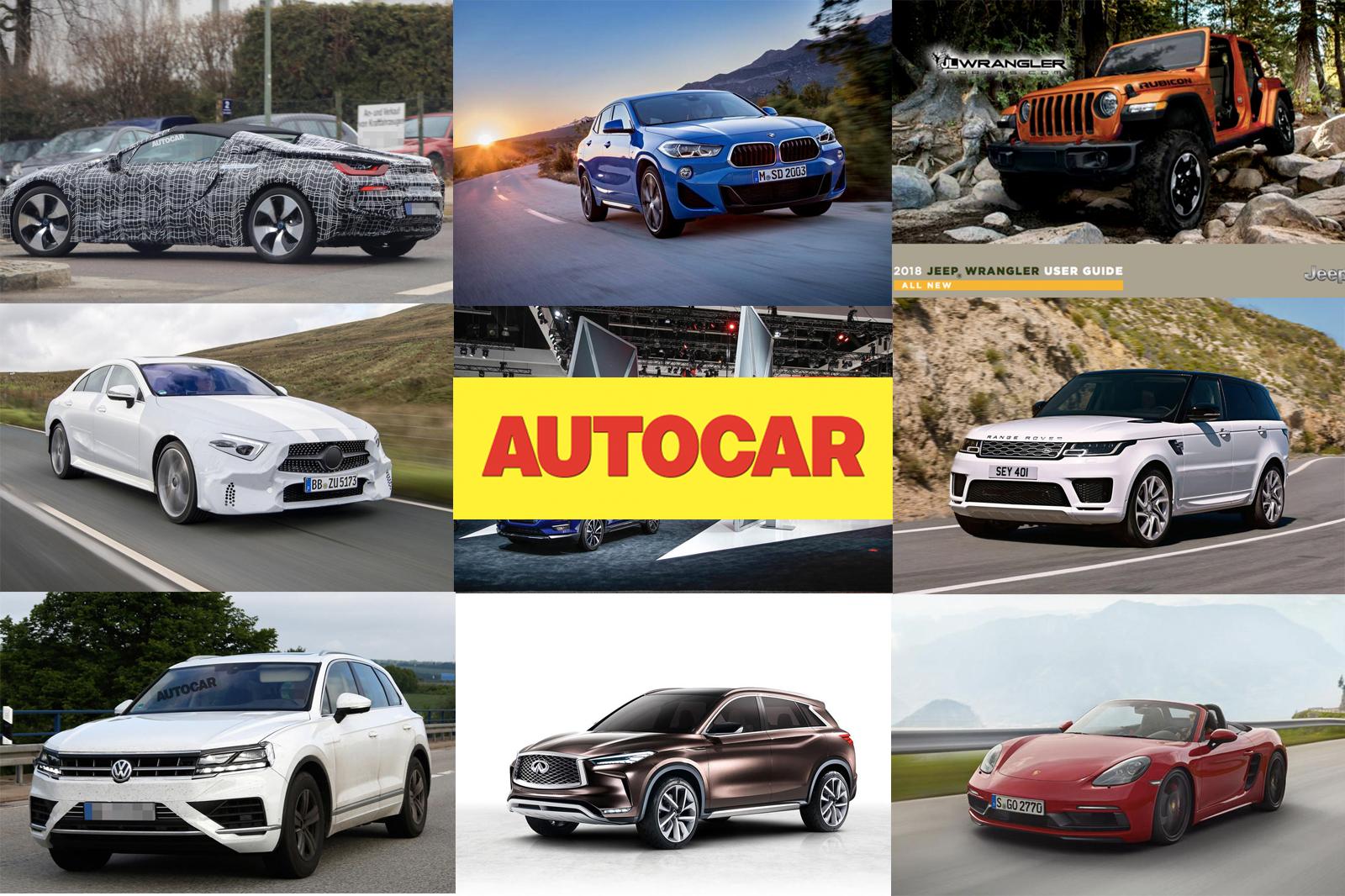 2017 LA автосалон — предварительный просмотр