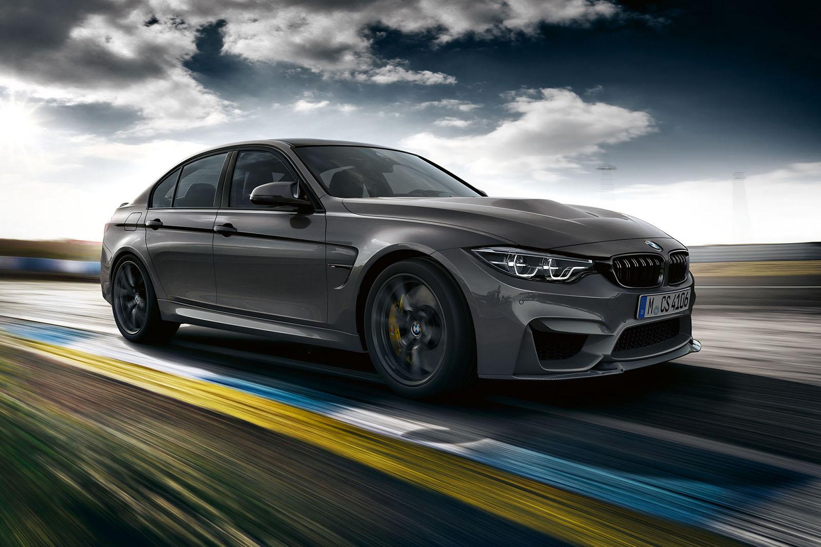 Hardcore BMW M3 CS показал